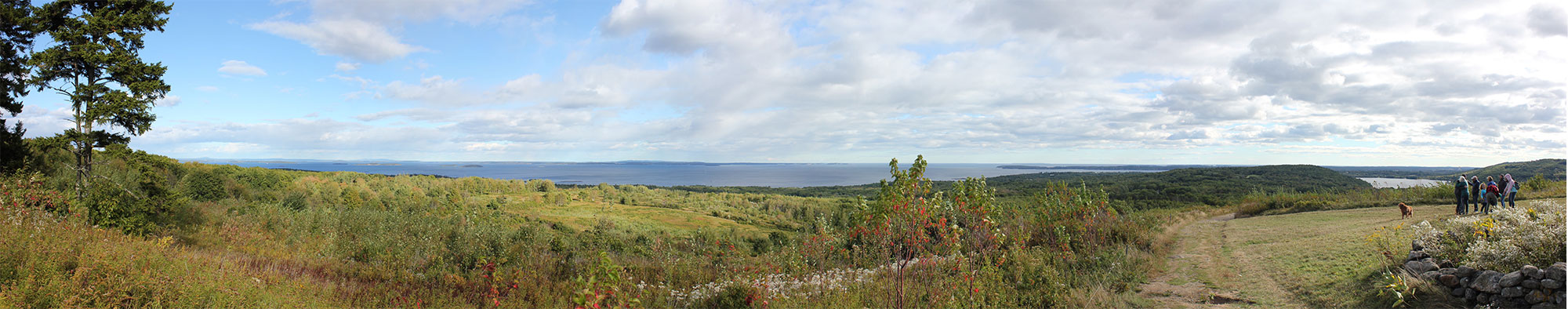 beech hill panorama